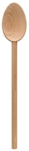 HIC Harold Import Co. 2449 Super Heavyweight French Beechwood Spoon with Extra Large Bowl, 19.5-Inches
