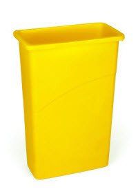Rubbermaid FG354000GRAY Waste Basket Jumbo Gray 4/CA