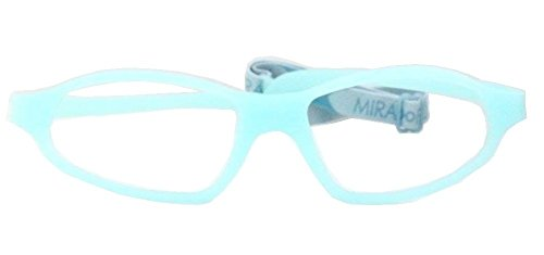 Miraflex Nick 52 Adult Eye Glass Frames | 52/19 | Clear - Eyewear Eyeglasses Miraflex