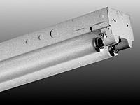 Day-Brite TT232-UNV-1/4-EB Tandem Strip, T8, 8', 4-Lamp, 32W, 120/277V