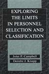 Exploring the Limits in Personnel Selection and Classification, , 0415647711