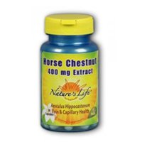Natures Life 50 Caps - Horse Chestnut Seed Extract, 400 mg, 50 caps by Nature's Life (Pack of 2)