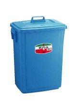 [해외]양동이는 세키스이 폴 리 페일 정사각형 #40 본체와 뚜껑 세트 쓰레기통 일본 업체 / Pale Sekisui Poly pale square type #40 body and lid set Japan trash cans