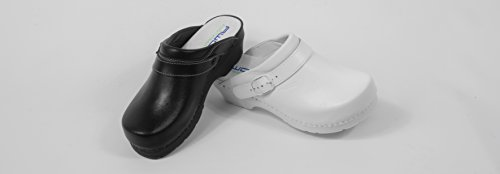 AWC Clog with Ladies Classic White Heel RRq05xwv