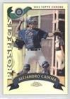 Alejandro Cadena (Baseball Card) 2002 Topps Chrome Traded & Rookies - [Base] - Refractor (2002 Topps Chrome Baseball)