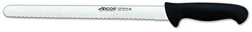 Arcos 2900 Range 12-Inch  Pastry Serrated Knife, Black by ARCOS