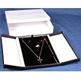 Earring Necklace Bracelet Display Leatherette