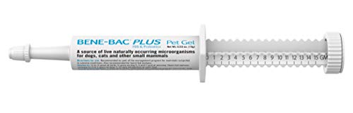 PetAg Bene-Bac Plus Pet Gel, FOS Prebiotic and Probiotic 15 gm.