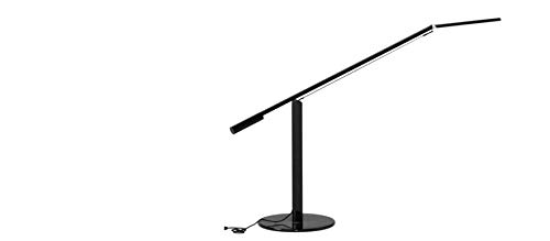 Koncept ELX-A-W-BLK-DSK Equo LED Desk Lamp, Warm Light, Black