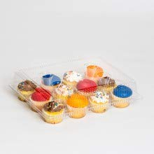 The Bakers Pantry Cupcake Boxes- Cupcake Containers 24 Pack Cupcake, Cupcake Box Container Holds 12 Cupcakes (24, 12-Compartment) by The Bakers Pantry (Image #3)
