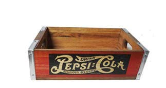 Pepsi Banded Crate