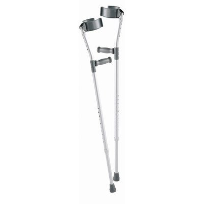 Carex Health Brands Adult Standard Forearm Crutches