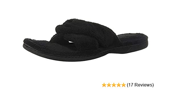 a428b2552323 Amazon.com   Dearfoams Df Women's Terry Thong Slipper   Shoes