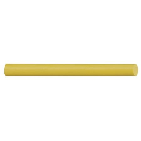Flat Paint Marker 3/8'' Tip, Yellow, PK144 by Markal