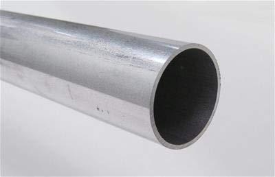1 Diameter x .050 Wall Aluminum Tubing 6063 Alloy T-6 Temper 8 FT