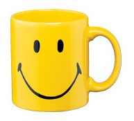 Waechtersbach Smiley Face Mug, Yellow, Set of -