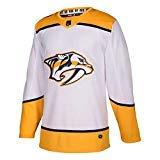 adidas Predators Away Authentic Pro Jersey - Men's Hockey 42 White/Yellow