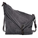 Crossbody Bag,Coofit Messenger Bag Casual Canvas Hobo Bag Shouder Bag Unisex