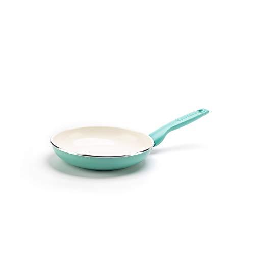 GreenPan Rio Healthy Ceramic Nonstick, Frying Pan, 7″, Turquoise