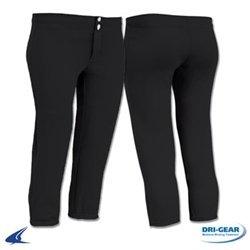 Rise Fastpitch Softball Pants (Large, Black) ()