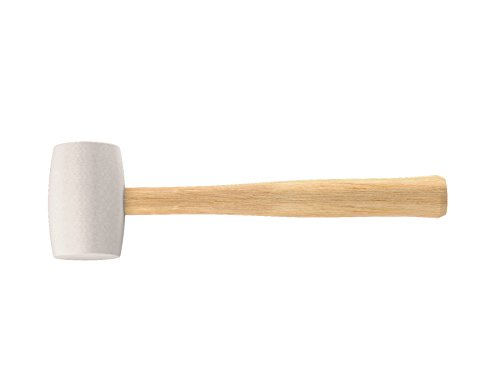 Blue Hard Mallet (Bon 14-463 24-Ounce White Rubber Mallet with Hardwood Handle)