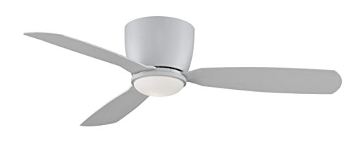 Fanimation Embrace - 52 inch - Matte White with Matte White Blades with Light Kit and Remote  - (Fanimation Fan Light)