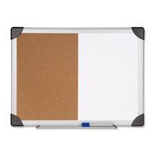 Lorell Combo Board, Dry-Erase/Cork, 24\