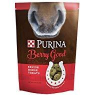 Purina Berry Good Senior Horse Treats, 3 lb Bag by Purina