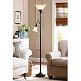 Better Homes and Gardens Attractive design Floor Lamp Combo, Bronze
