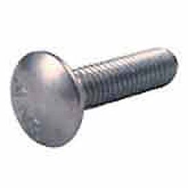 Crown Bolt 02760 1/2 Inch-13 x 8 Inch Coarse Thread Zinc-Plated Steel Carriage Bolts, 25-Count