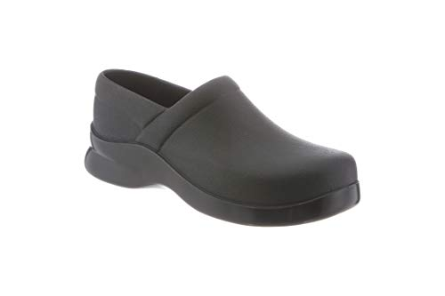 Klogs Men's Bistro Lightweight Black Casual Clog 7 M KL-BISTRO-BLK007MED