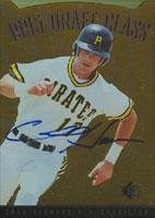 Chad Hermansen Pittsburgh Pirates 1995 Upper Deck SP Draft Class Autographed Card. This item comes with a certificate of authenticity from Autograph-Sports. Autographed