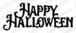 Impression Obsession Happy Halloween Craft -