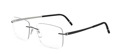 f95ac1580c Silhouette eyeglasses Momentum color size very W DEMO lens (titanium Iceland  black 54mm-19mm-145mm)