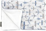 (DwellStudio Stroller Blanket - Flight Sky)