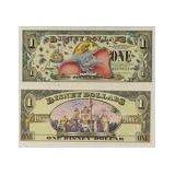 "2005 Walt Disney Dollars Featuring ""Dumbo"" Celebrating Resorts 50th Anniversary Series ""D"" Bill"