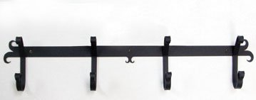 24 Inch Plain Coat Bar