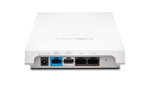 SonicWall | 02-SSC-2104 | SONICWAVE 224W Wireless Access Point with Secure Cloud WiFi Management and Support 1YR (Gigabit 802.3at PoE)