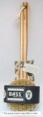 Brush Deluxe Circular Handle 100% Boar Bristle Body Brush, Firm Bass Brushes 1