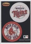 ; Boston Red Sox Team Minnesota Twins Team, Boston Red Sox Team (Baseball Card) 1993 Ted Williams Card Company - Pogs #MTBR ()