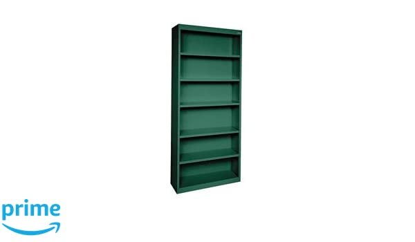 Forest Green Sandusky Lee BA50341282-08 Elite Series Welded Bookcase