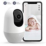 Nooie Baby Monitor, WiFi 1080P, , 360-Degree Wireless IP Home Security Camera, IR Night Vision,...