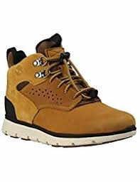 Timberland Youth Killington Hiker Chukka Wheat Leather Boots 7 US by Timberland (Image #1)