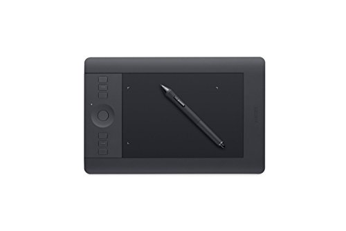 Wacom uPTH451 Small Intuos Pro Pen & Touch Tablet (Renewed) (Best Mac Applications To Edit Photos)