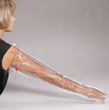 Inflatable- plastic full arm air splint- 32 in. - 1 ea. by First Aid Only
