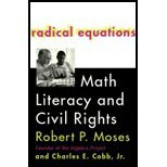 Radical Equations - Math Literacy & Civil Rights (01) by Moses, Robert P - Cobb, Charles E [Paperback (2002)]