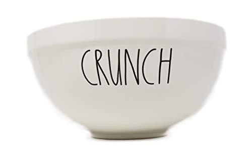 Rae Dunn By Magenta CRUNCH Ceramic LL 8.5