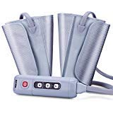 TENKER Air Massager Compression Leg Wrap Massage Therapy with Handheld Controller 2 Modes 3 Intensities for Foot Calf -