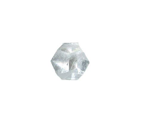Beautiful Crystal Quartz Dodecahedron Gemstone Sphatik Original Crystal Natural Authentic Good Luck Genuine Divine Holy Pious Metaphysical Brazil Esoteric Monks Tibet Nepal ()