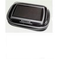 XiRRiX GPS Bikerset 4 Motorradtasche Navi Biker Set Universal Fahrrad+Motorrad Halterung inkl. Tasche, Outdoor-Tasche für Navigation, für GPS Geräte bis 4,3